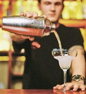образец резюме на работу бармена